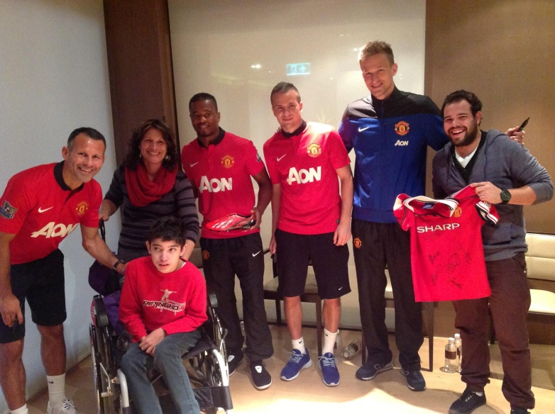 Adam meets Manchester United